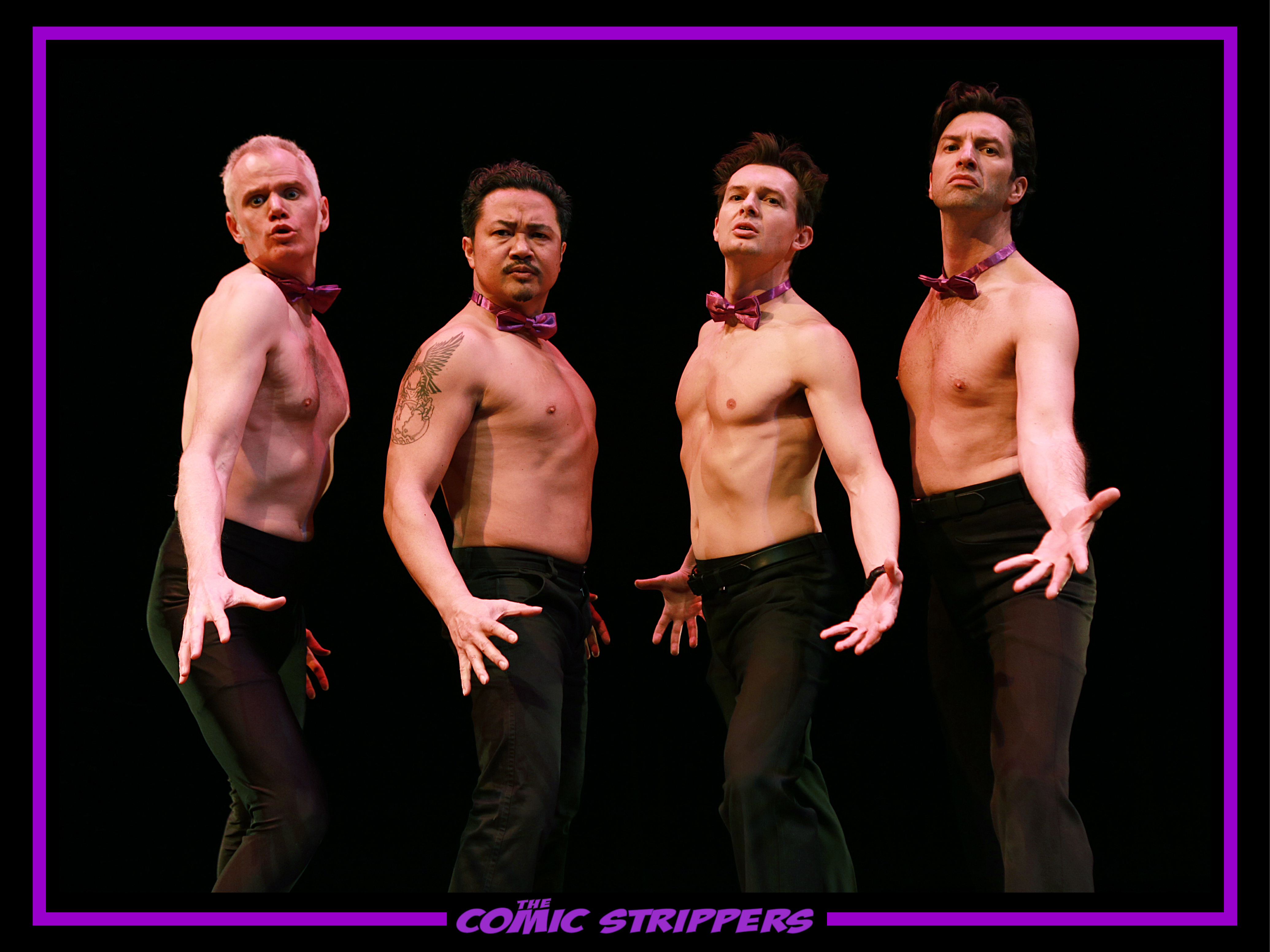 4 Comic Strippers