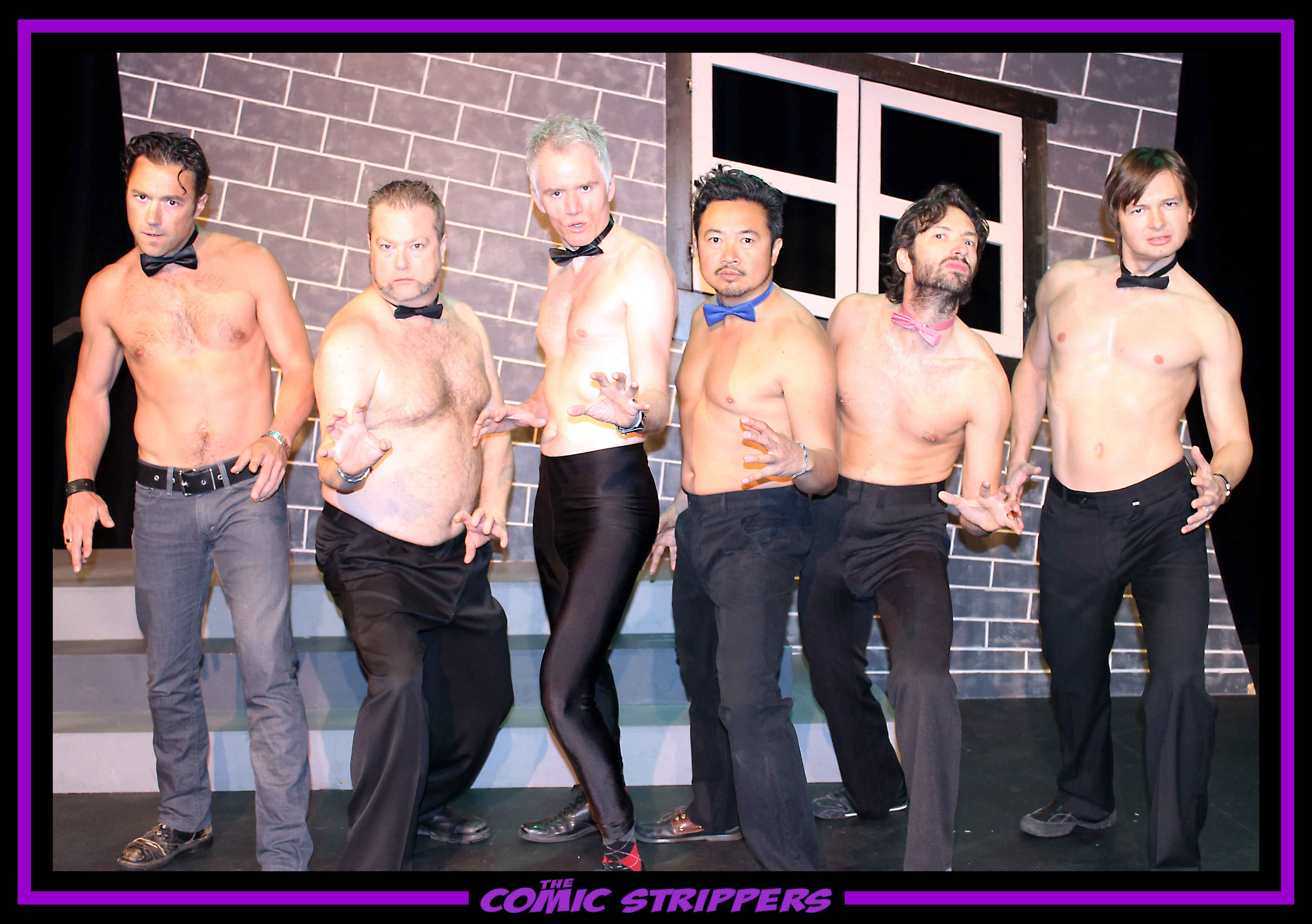 6 Comic Strippers