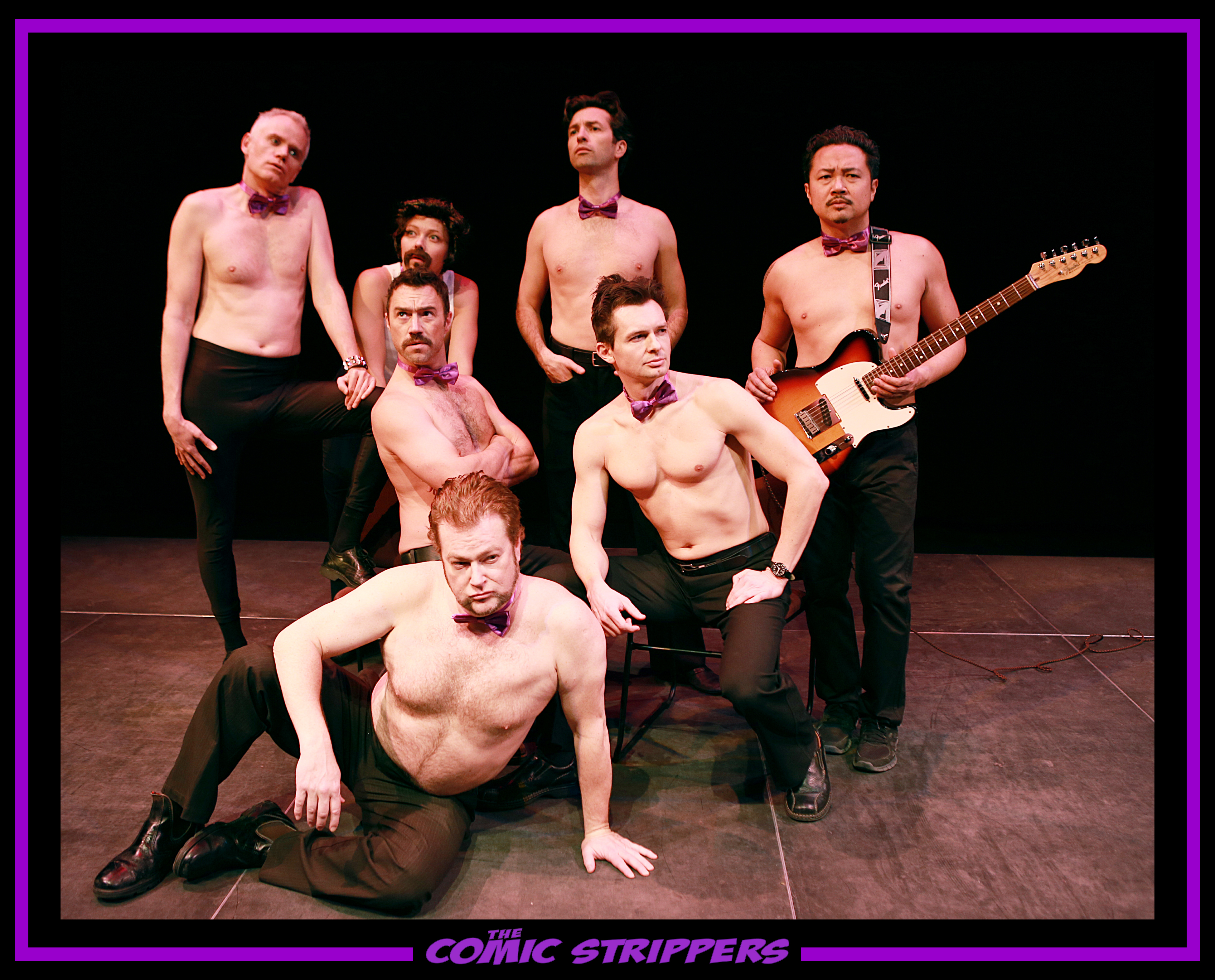 7 Comic Strippers